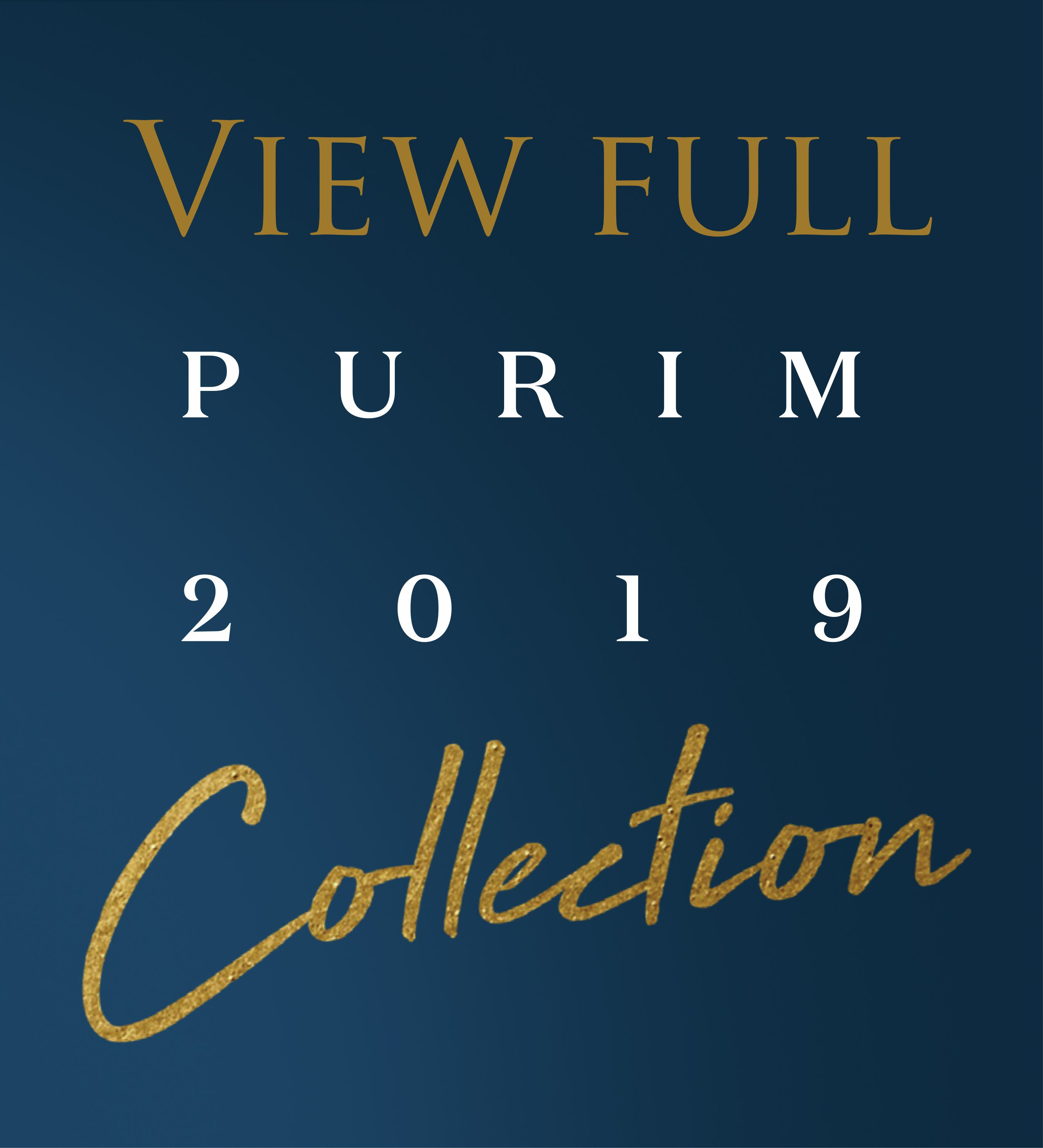 Purim 2019 Collection