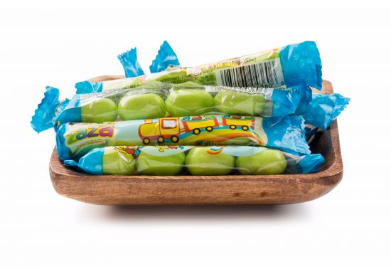 Zaza Mazel Tov Mini Chewy Candies Green