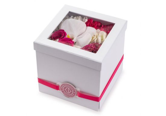 Square Flower Box With Insert